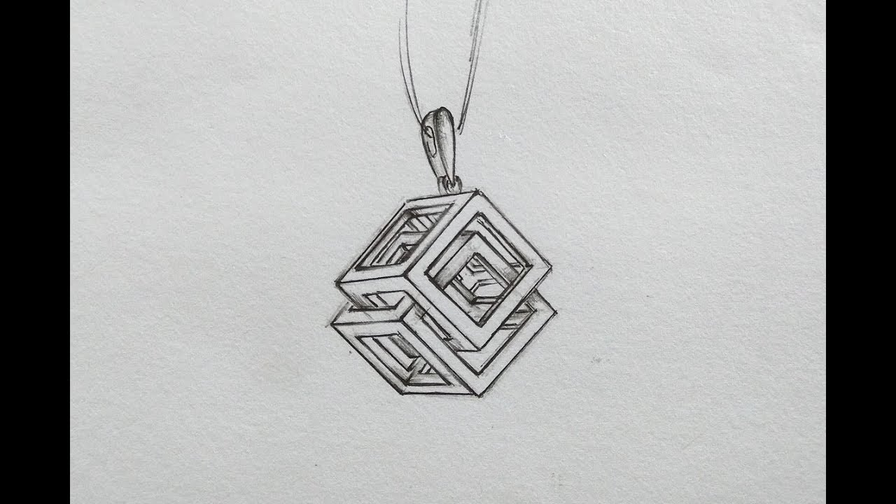 How To Draw Jewellery Designs On Paper Step By Step On Youtube By