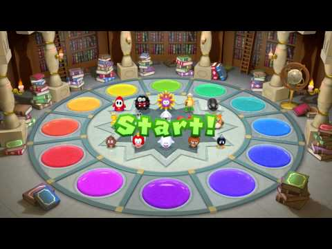 Mario Party 10 - All Free-For-All / 4 player Mini-Games