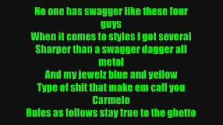 Swagga Like Us T.I ft Kanye West And Lil Wayne Lyrics (lyrics in sidebar)