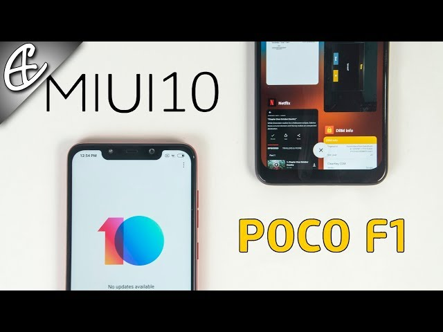 MIUI 10 2 3 Global Stable Update for Poco F1 - Widevine L1