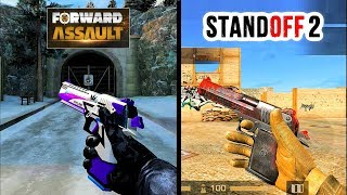 Stand Off 2 Vs Forward Assault Weapons Sound & Animation Comparison.
