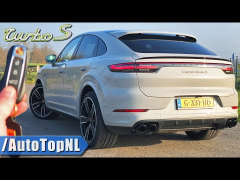 2020 PORSCHE Cayenne Coupe TURBO S 680HP | REVIEW On AUTOBAHN (NO SPEED LIMIT) By AutoTopNL