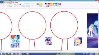 powerpuff pony girls speedpaint