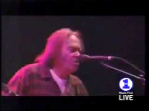 SOUTHERN MAN - Neil Young - Live 2000 - LYRICS ~ Crosby, Stills, Nash, & Young