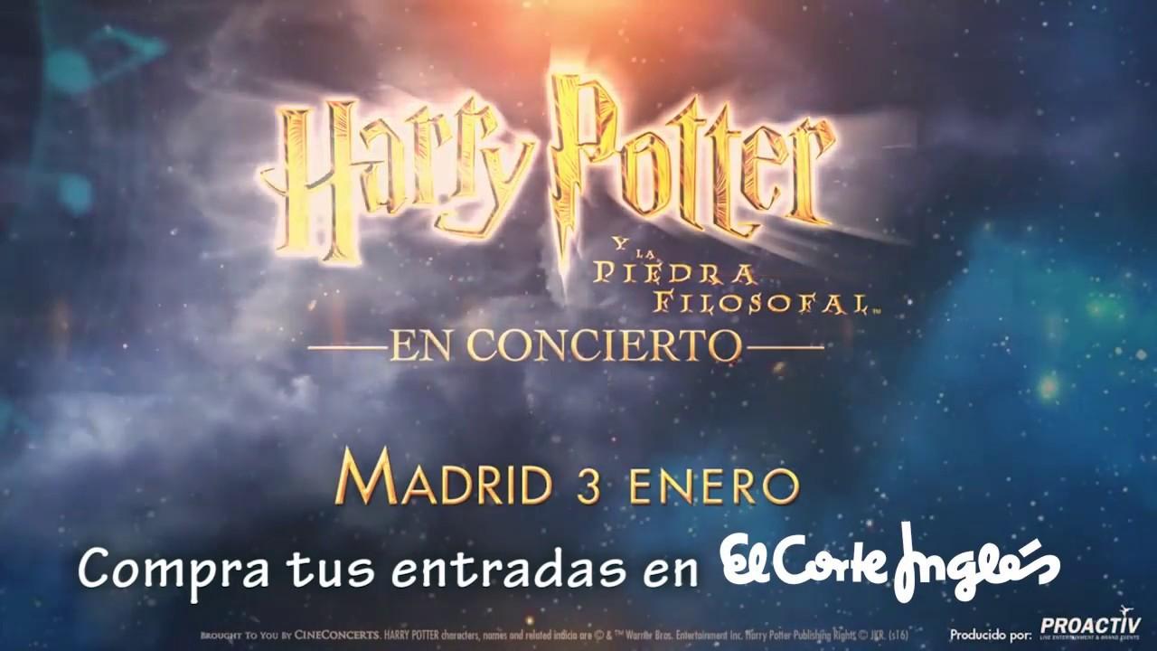 Harry Potter En Concierto El 3 De Enero Entradas En El Corte Inglés Youtube