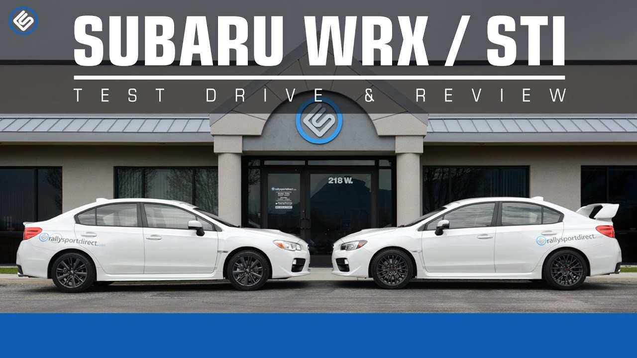 2015 subaru wrx vs subaru wrx sti review youtube. Black Bedroom Furniture Sets. Home Design Ideas