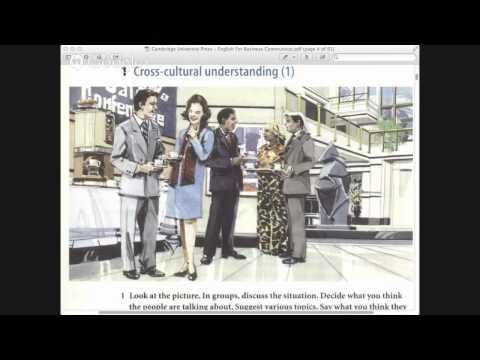 Communicative Business English Course, Lesson 1, Part 1/2 (Intermediate)