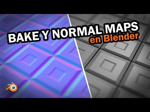 Bake y Normal Maps en Blender