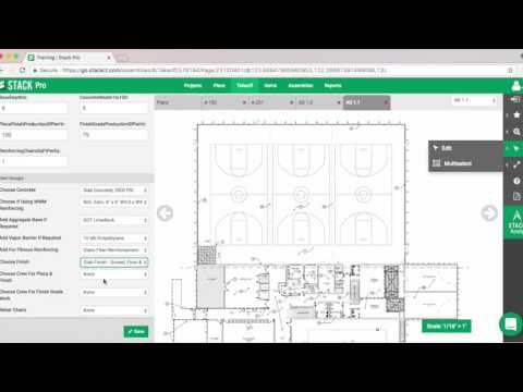 Using STACK's Concrete Catalog  | Complete Your Estimate Quickly with Concrete Estimating Software