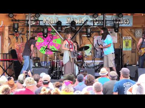 Hayley Jane & the Primates at Jerry Jam 2016