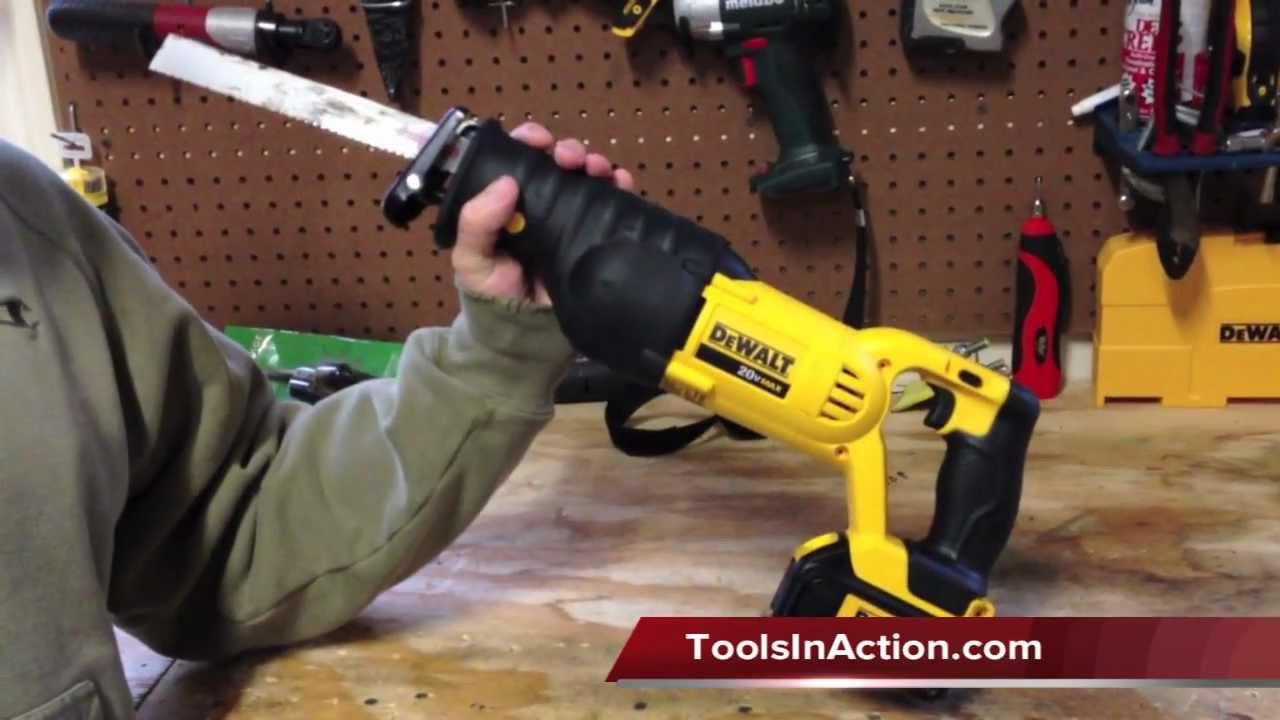 Dewalt dcs380l1 20v max lithium ion reciprocating saw kit youtube greentooth Gallery