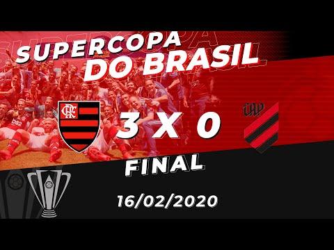 Flamengo x Athletico-PR Ao Vivo - Final Supercopa