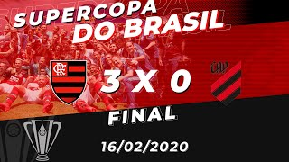 Flamengo x Athletico-PR Ao Vivo - Final Supercopa