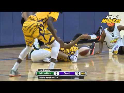 Miami Midnites vs South Florida Gold ABA Basketball 3/3/16