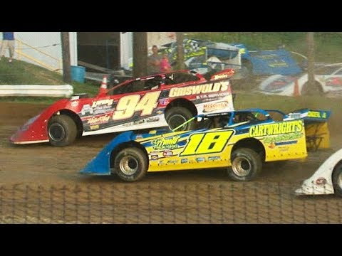 ULMS Super Late Model Heat One | Genesee Speedway | 7-4-19