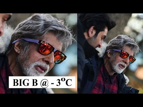 Amitabh Bachchan shoots in minus 3 degrees for 'Brahmastra' in Manali Mp3