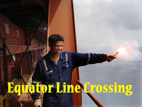 Equator Crossing Ceremony (Full) | Line Crossing Ceremony Details | Life at Sea | RoamerRealm