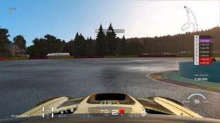Gran Turismo™SPORT Hot Lap Circuit de Spa-Francorchamps @ sunny rain ONBOARD