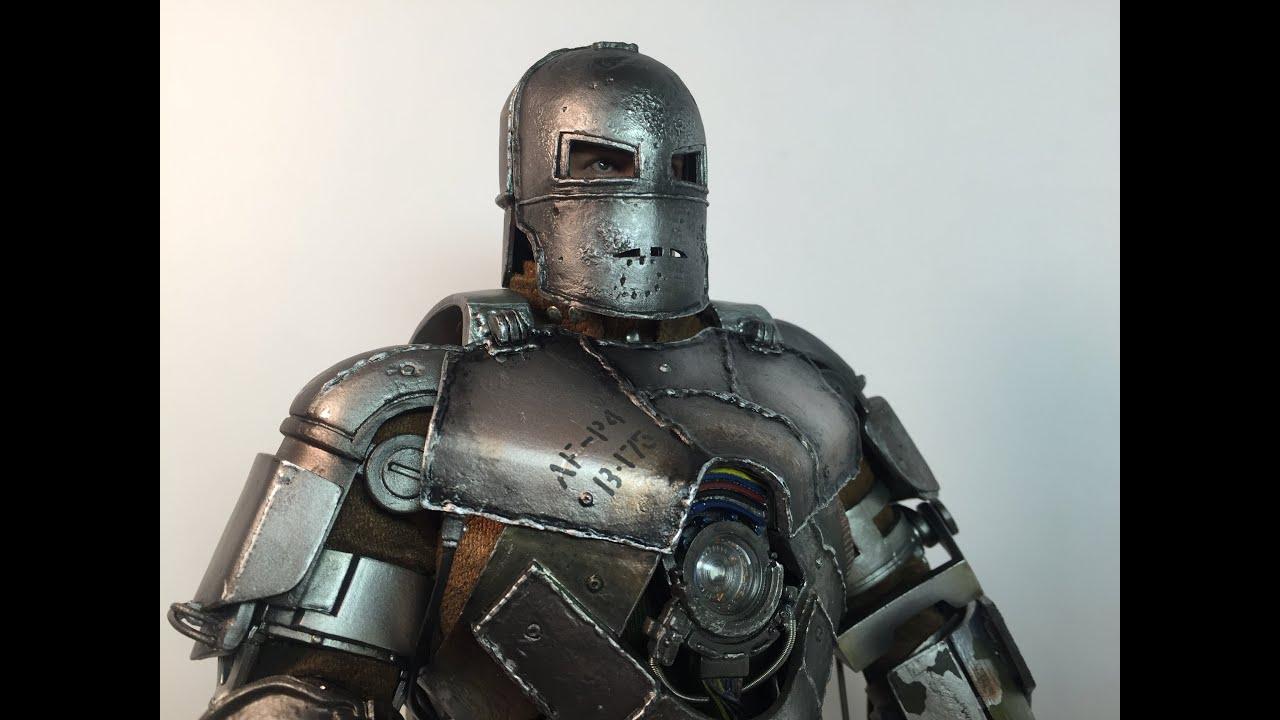 Хот Тойс Железный Человек Марк 1 (Версия 2.0) - YouTube