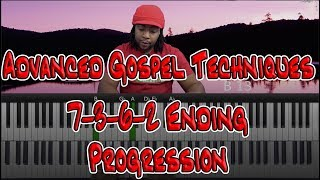 #88: Advanced Gospel Techniques - 7-3-6-2 Ending Progression