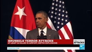 """We can and will defeat those who threaten the security of people around the world"" Obama"