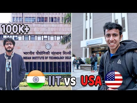 Studying in IIT vs Studying in America | The Tough Undergrad Fight