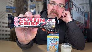 Coffin Crisp & Dunkin Donuts Vanilla Latte Pop Tarts