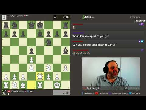 GM Finegold Streams for 12 hours!!  -- PART 1