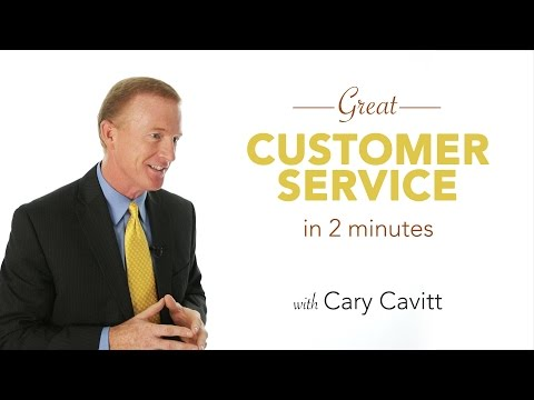 Customer Service Consultant: Great Service in 2 Minutes