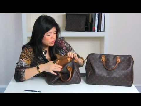 0cc110031123 How to spot a fake Louis Vuitton bag - YouTube