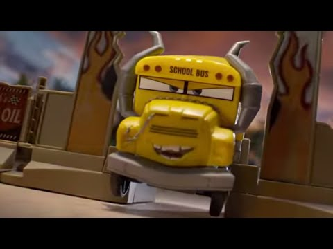 Disney•Pixar Cars 3: Crazy 8 Crashers Smash & Crash Derby Playset   Mattel