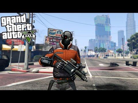 GTA 5 Mods DEADSHOT SUICIDE SQUAD