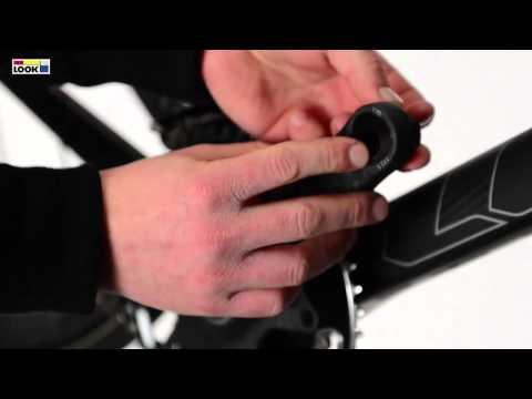 LOOK ZED2 - Fitting the three-lobe nut on the ZED2 crankset