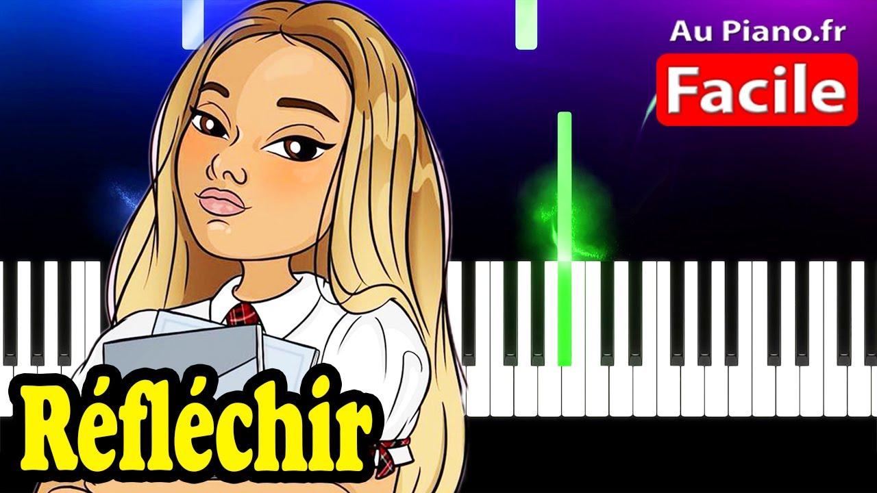 Download Wejdene - Réfléchir - Piano Cover Tutorial Lyrics (Au Piano.fr)