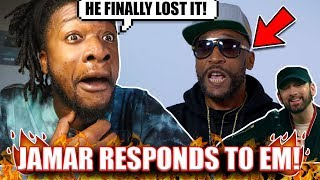 Jamar Finally Snapped !? | Lord Jamar RESPONDS to EMINEM I Will