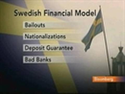 Swedish Financial Model to Rescue Banks Gains Popularity: Video