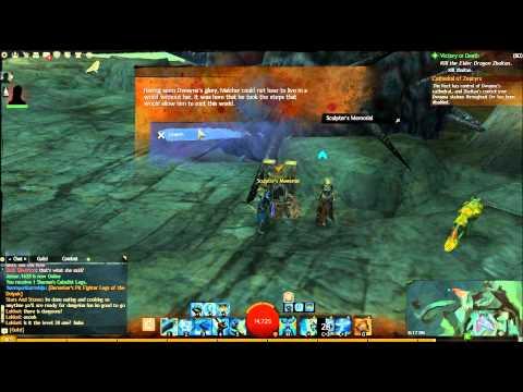 Guild Wars 2 Vista Points in Malchor's Leap, Northwest - Walkthrough/Tutorial