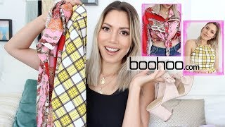 Sommer Outfits Unboxing & Try-on boohoo | funnypilgrim