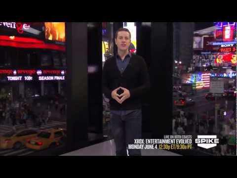 Xbox at E3 2012: Entertainment Evolved on Spike TV Promo