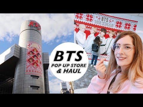 BTS 109 pop-up store & haul!