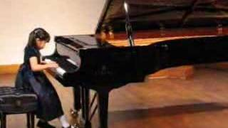 Annie plays Bach Invention No. 13, BWV 784