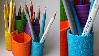 Органайзер из FIMO / FIMO pencil holder