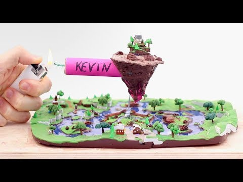 Leaky Lake, Cube Event & Firecracker (Fortnite Battle Royale) – Polymer Clay Tutorial