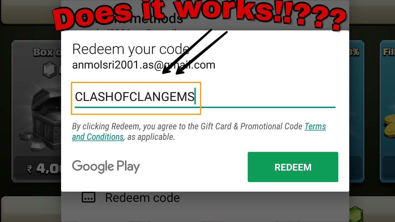 NOTE: The Google Play redeem codes below are free promo codes that unlock paid/IAP apps or games, these are NOT gift cards! Below are Google Play Promo Codes for receiving free IAP for APPS & GAMES, these are not Google Play Redeem Codes for Gift Cards.