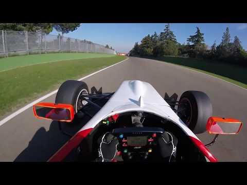 La mia prima volta ad Imola con una Formula 3! helmet cam onboard camera