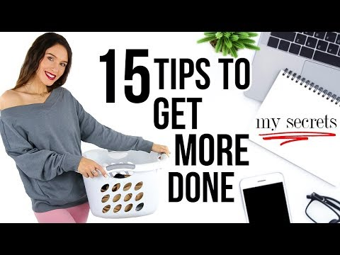 15 Secrets To INSTANTLY Get More Done EVERY DAY! *remember These*