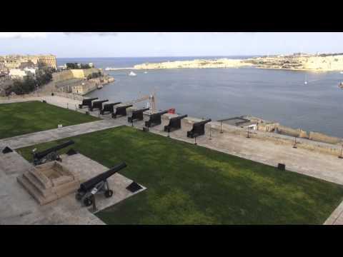 Niezwykly Swiat - Malta - Valletta - Ogrody Baraka
