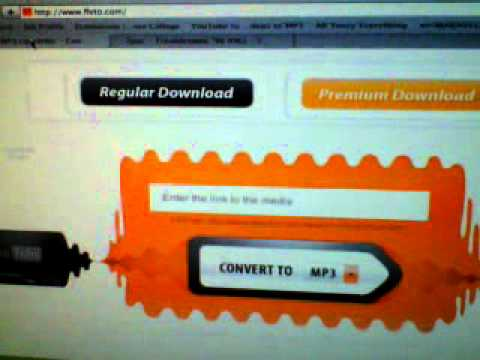 Convert Youtube videos from youtube To Your MP3 player
