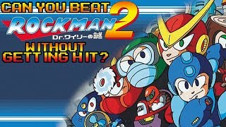 VG Myths - Can You Beat Rockman 2 Without Getting Hit?
