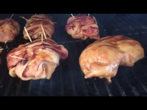 Bacon Wrapped Chicken Smoked To Perfection!!